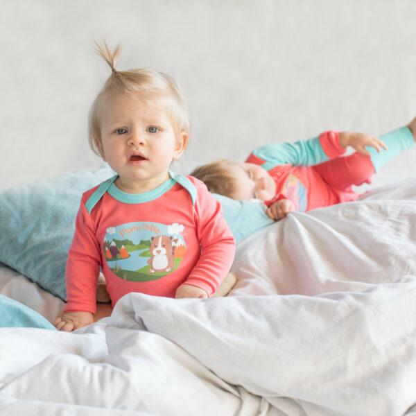 Chill n Feel - Baby-Erstausstattung Schlafanzug Kratzschutz Body Pima Cotton (3)