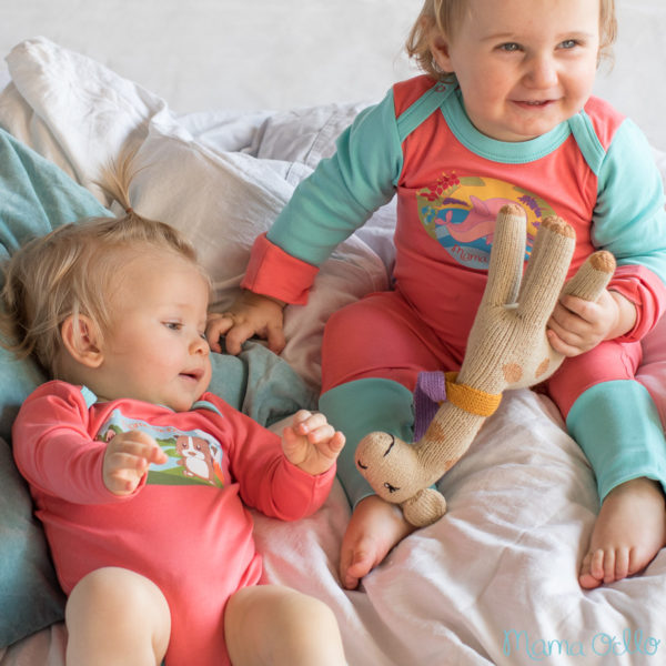 Chill n Feel - Baby-Erstausstattung Schlafanzug Kratzschutz Body Pima Cotton (5)