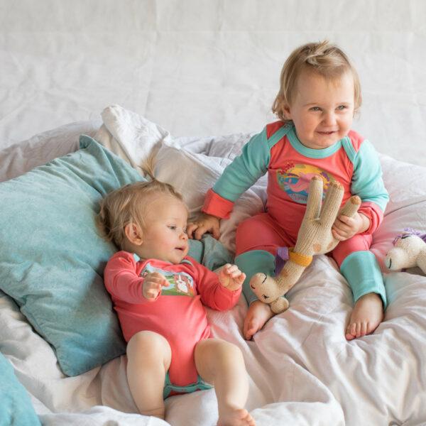 Chill n Feel - Baby-Erstausstattung Schlafanzug Kratzschutz Body Pima Cotton (7)