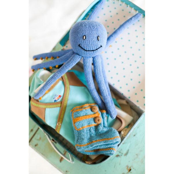 Chill n Feel - Erstausstattung Wickelbody, Baby Häubchen, Boots in Eisblau (3)