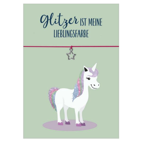 Glitzer-Einhorn-Geschenkset für Kinder und Erwachsene