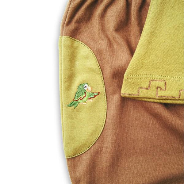 Chill n Feel - Baby Joggingsanzug Hose Pullover aus Bio Pima Baumwolle (1)