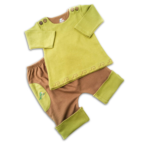 Chill n Feel - Baby Joggingsanzug Hose Pullover aus Bio Pima Baumwolle (2)