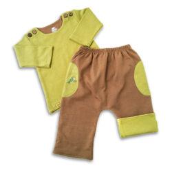 Chill n Feel - Baby Joggingsanzug Hose Pullover aus Bio Pima Baumwolle (3)