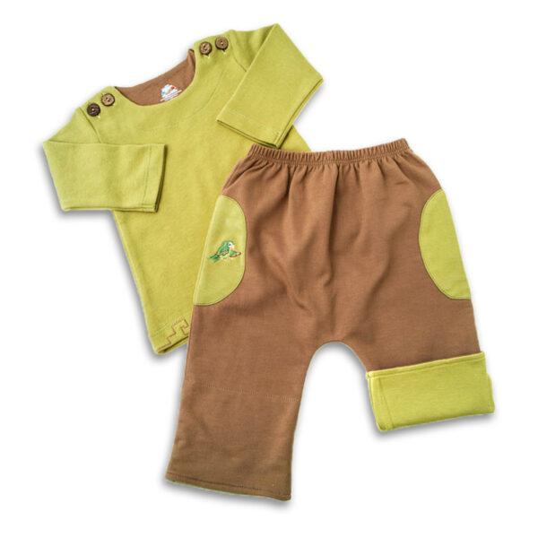Chill n Feel - Baby Jogginganzug Hose Pullover aus Bio Pima Baumwolle (3)