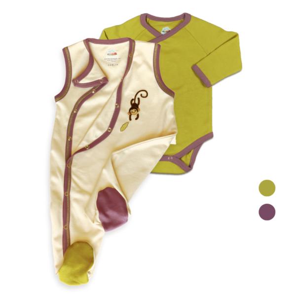 Chill n Feel - Baby Set für Neugeborene_Strampler und langarm Body_Unisex