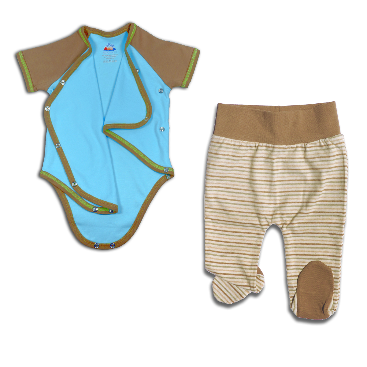 Chill n Feel - Maritimes Outfit Sommerbaby Pima Baumwolle (1)
