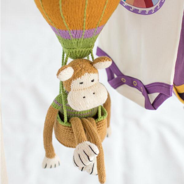 Chill n Feel - Bio Äffchen Affe aus Biobaumwolle (2)