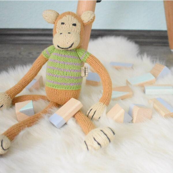 Chill n Feel - Bio Äffchen Affe aus Biobaumwolle (5)