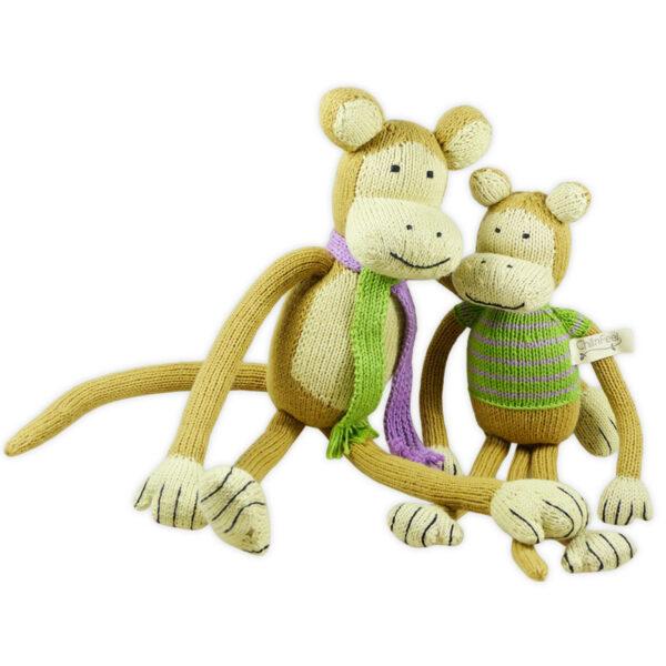 Chill n Feel - Bio Kuscheltier Affen aus Bio Baumwolle_neu (2)