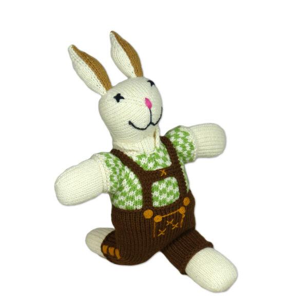 Chill n Feel - Bayern Kuscheltier Hase in Lederhose Tracht aus Biobaumwolle (2)