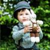Chill n Feel - Bio Kuscheltier Hase in Lederhose Tracht aus Biobaumwolle (4)