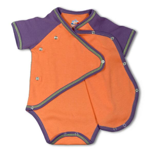 Chill n Feel - Baby Body-Set für Mädchen aus Bio-Pima Baumwolle_Orange (6)