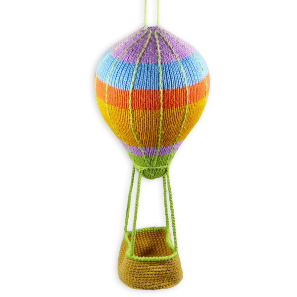 Chill n Feel - Baby Mobile Heißluftballon für Babyshower oder Geburt (4)