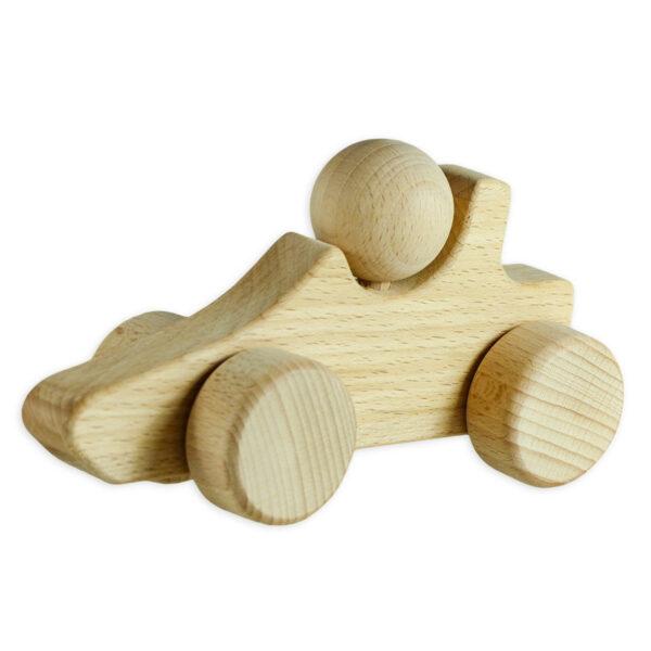 Babygeschenk Bio Body Pima Baumwolle u. Greifling Holzauto (2)