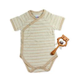 Chill n Feel - Baby-Geschenk Montessori Body Natur Holzrassel Eule (1)
