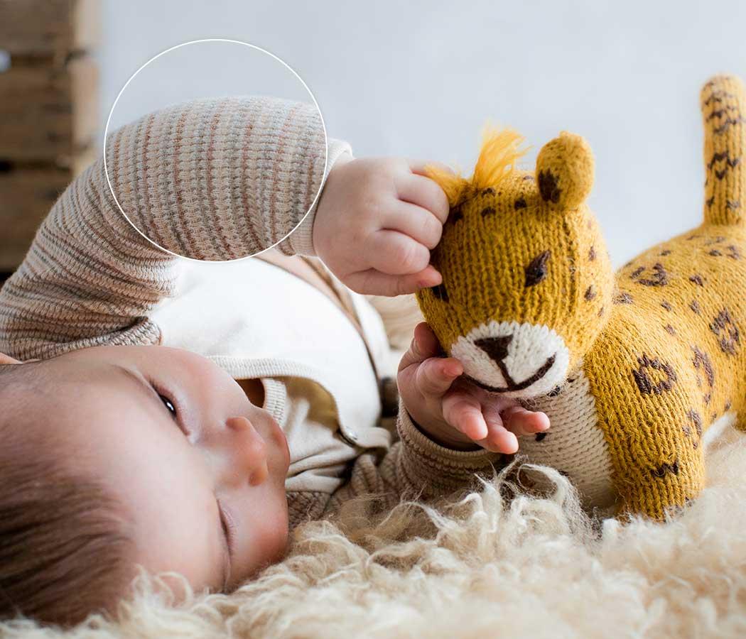 Naturprodukte für Babys_Kuscheltiere_Strick-Puppen