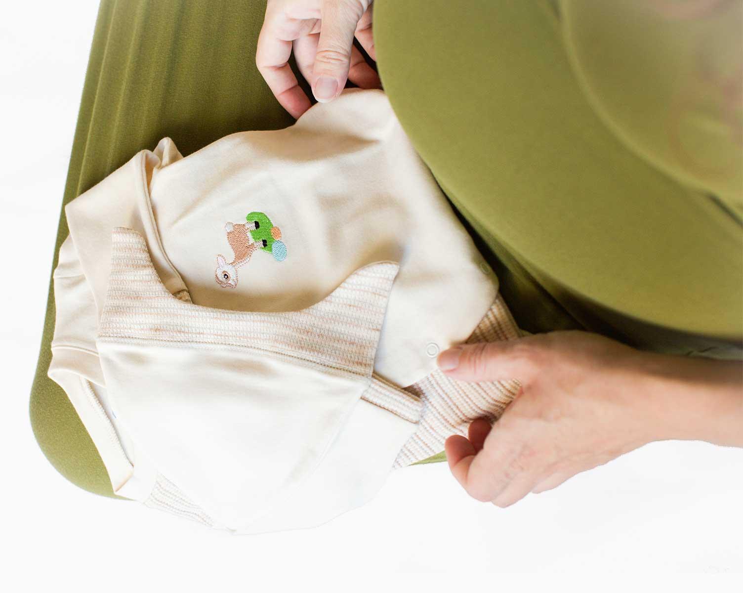 Nachhaltige Babygeschenke_Kliniktasche | Chill n Feel