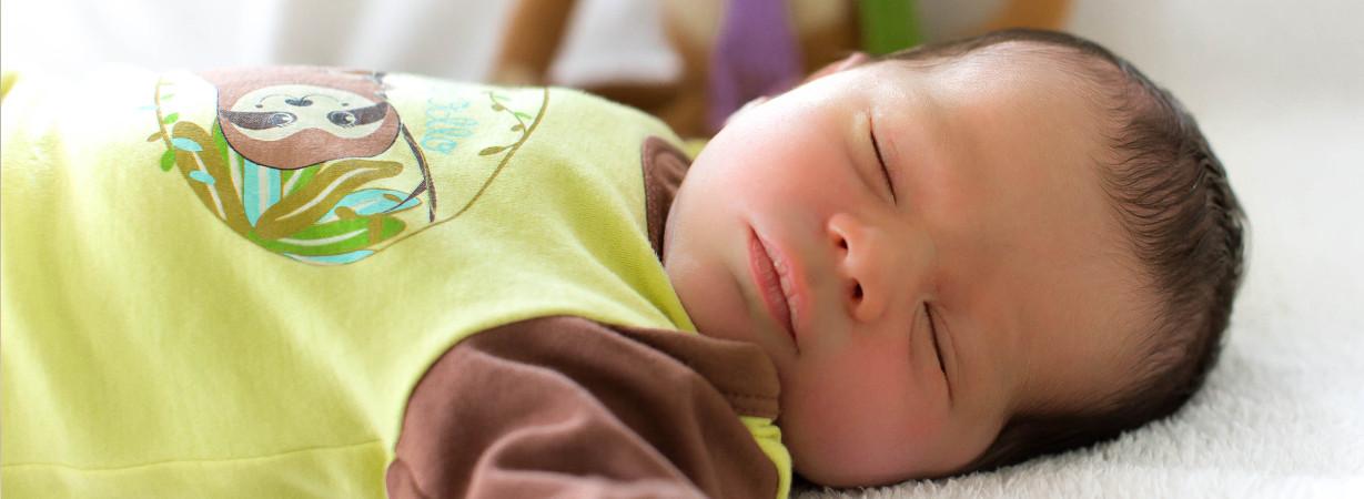 Wohlfühl-Baumwolle die mit der Babyhaut atmet