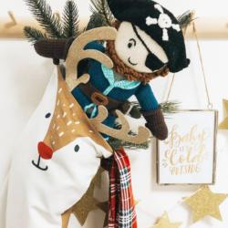 Piraten Puppe für Jungs aus Bio Baumwolle