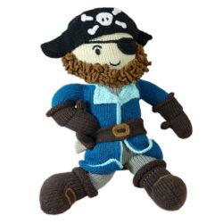 Chill n Feel_Öko Puppe Pirat Kapitän Samy_Schadstofffreie Babypuppe_Gesundes Kuscheltier (1)