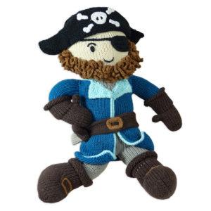 Chill n Feel_Puppe für Jungs_Pirat Sam_Stoffpuppe