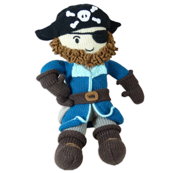 Chill n Feel_Öko Puppe Pirat Kapitän Samy_Schadstofffreie Babypuppe_Gesundes Kuscheltier (2)