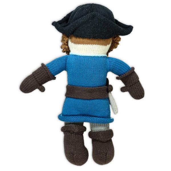 Chill n Feel_Öko Puppe Pirat Kapitän Samy_Schadstofffreie Babypuppe_Gesundes Kuscheltier (4)