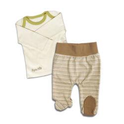 Chill n Feel_Baby Schlafanzug Zweiteiler_aus Pima Biobaumwolle_Geringelt (1)