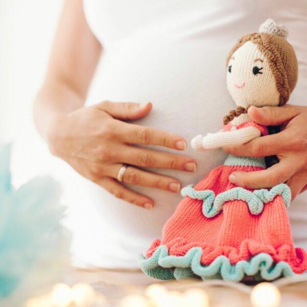 Bio Puppe Prinzessin Sophie aus Baumwolle (2)
