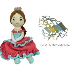Chill n Feel - COVID-19 Mundschutz für Puppe_Puppe Prinzessin