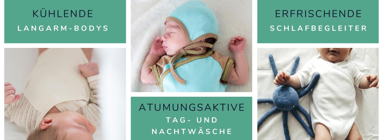 Chill n Feel - Entspannter Babyschlaf im Sommer_Baby nachts anziehen