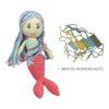 Chill n Feel - Mundschutz für Puppen_Meerjungfrau