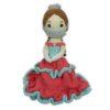 Chill n Feel - Prinzessin Puppe mit Mundschutz