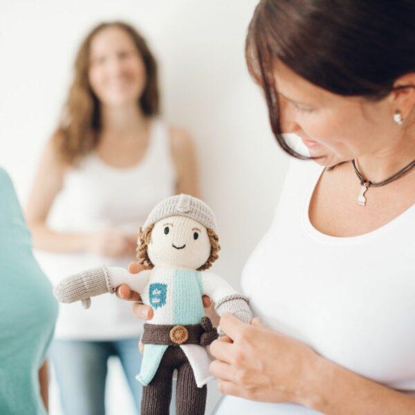 Ritter Puppe für Jungen aus Bio Baumwolle
