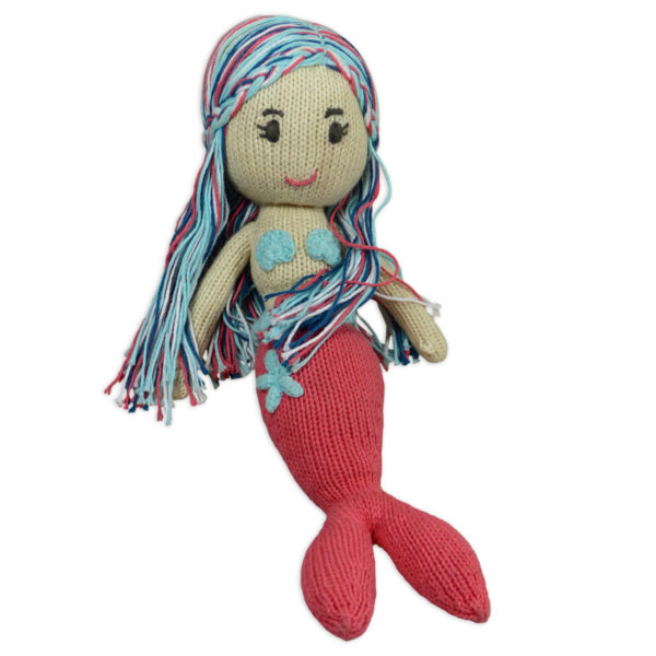 Chill n Feel_Öko Puppe Meerjungfrau Lily_Schadstofffreie Babypuppe_Gesundes Kuscheltier (2)