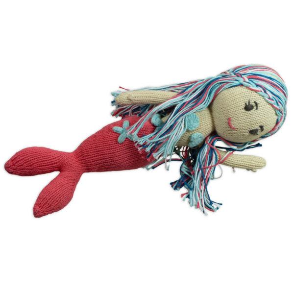 Chill n Feel_Öko Puppe Meerjungfrau Lily_Schadstofffreie Babypuppe_Gesundes Kuscheltier (4)