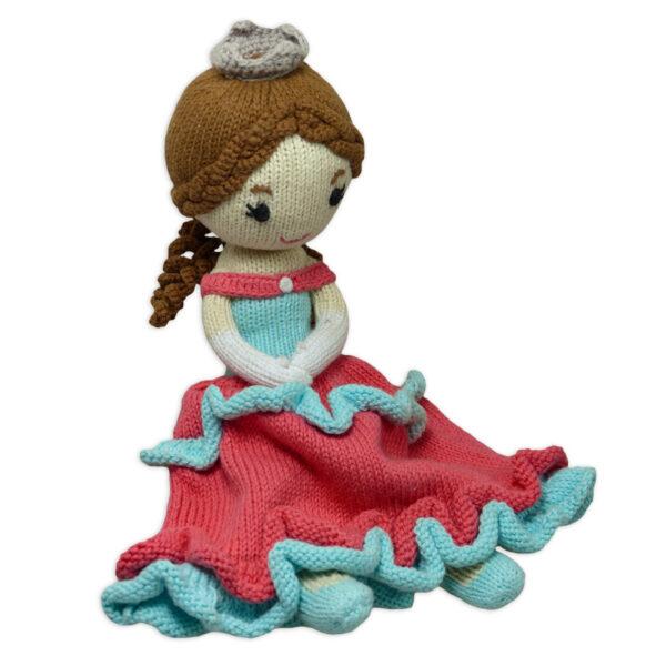Chill n Feel_Öko Puppe Prinzessin Sophie_Schadstofffreie Babypuppe_Gesundes Kuscheltier (1)