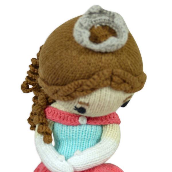 Chill n Feel_Öko Puppe Prinzessin Sophie_Schadstofffreie Babypuppe_Gesundes Kuscheltier (4)