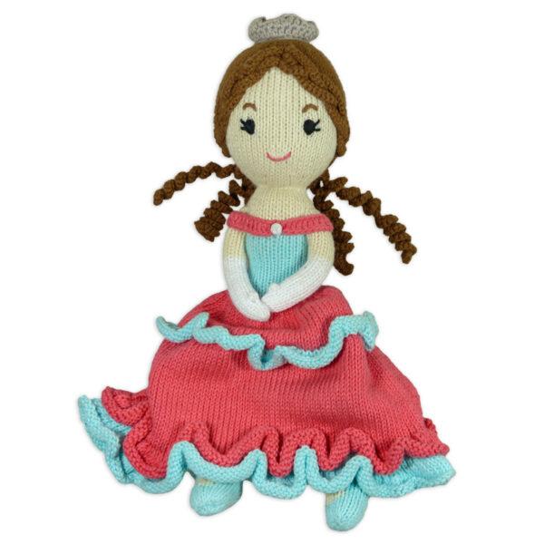 Chill n Feel_Öko Puppe Prinzessin Sophie_Schadstofffreie Babypuppe_Gesundes Kuscheltier (5)