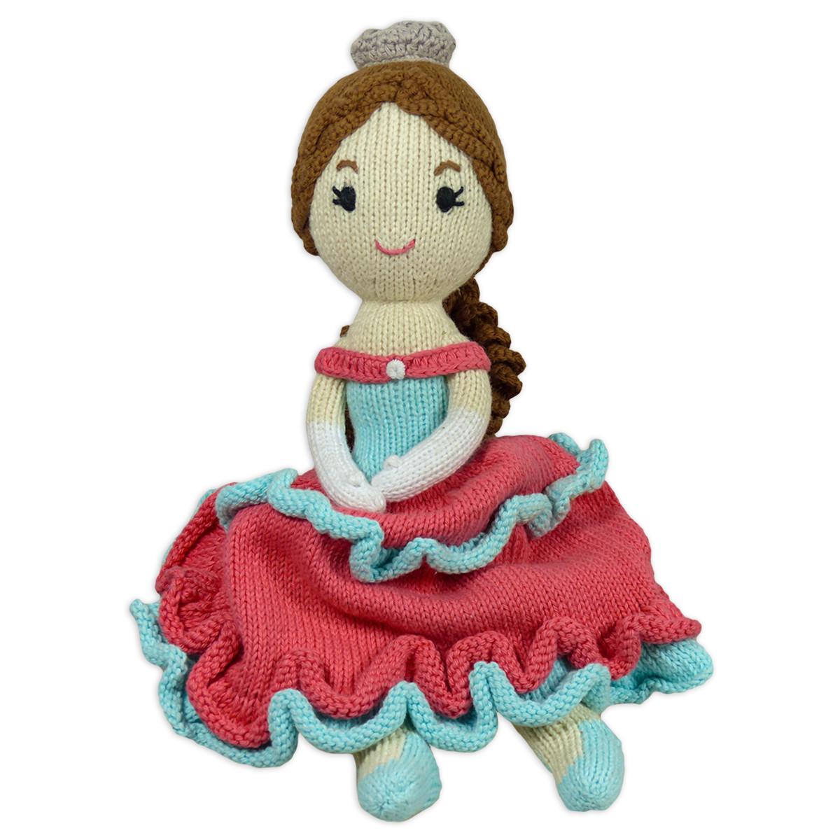 Chill n Feel_Öko Puppe Prinzessin Sophie_Schadstofffreie Babypuppe_Gesundes Kuscheltier (6)