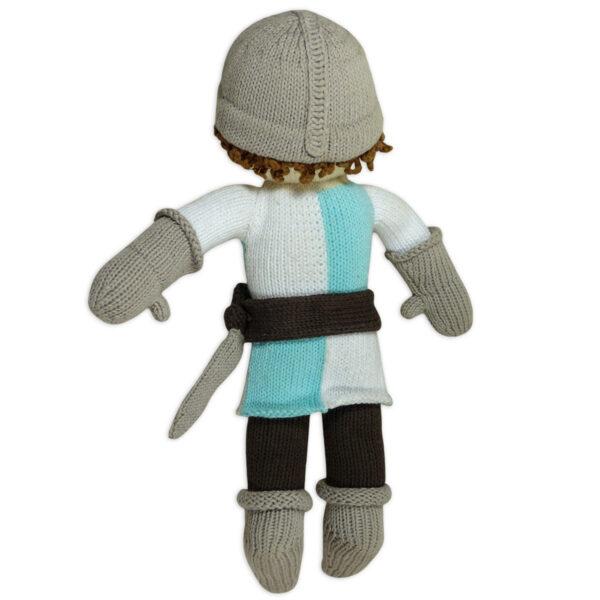 Chill n Feel_Öko Puppe Ritter Lancelot_Schadstofffreie Babypuppe_Gesundes Kuscheltier (5)