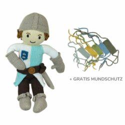 Chilll n Feel - COVID-19 Mundschutz für Puppen_Puppe Ritter