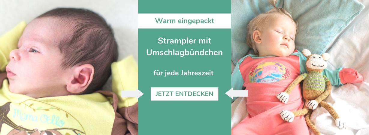 Warum Schlafsack? Decken sind für Neugeborene ein Tabu, vor allem nachts. Zu groß ist das Risiko eines plötzlichen Kindstodes. Besonders gut eignen sich Schlafsäcke mit herausnehmbarem Innenfutter, denn so kannst du je nach Temperatur eine Schicht mehr oder weniger um dein Baby packen.