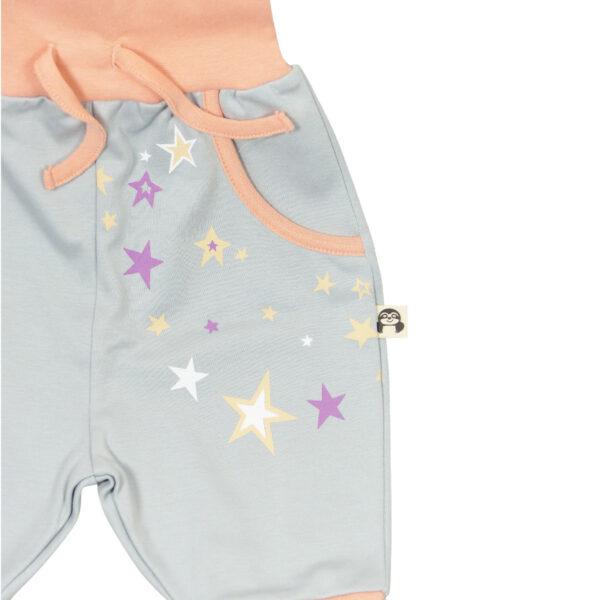 Chill n Feel - Bio Mitwachshose für Mädchen mit Sternen_Pima Baumwolle (4)