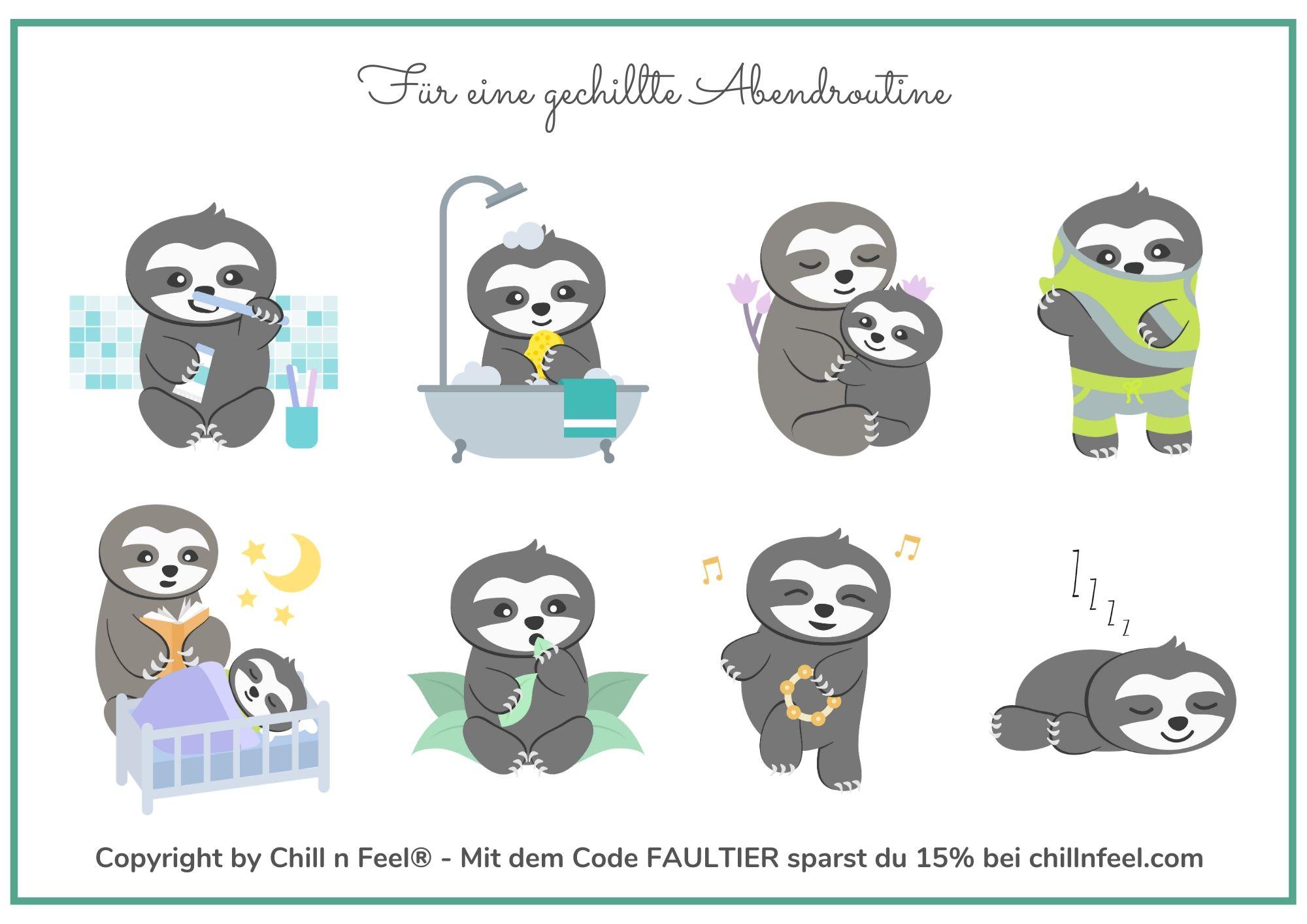 Chill n Feel - Abendroutine für Kleinkinder