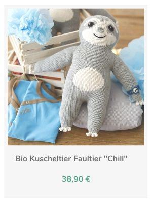 Chill n Feel - Bio Faultier Kuscheltiere (2)