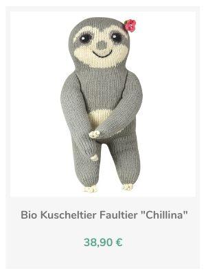 Chill n Feel - Bio Faultier Kuscheltiere (3)