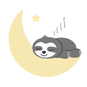 Einschlafroutine Kinder_Faultier schläft