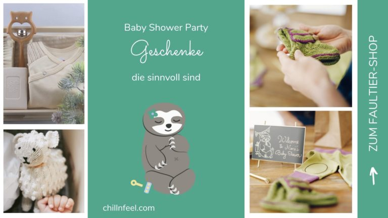 Gechillt zur Baby Shower Party ... in 5 Schritten